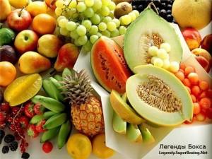 Полезные продукты питания для человека