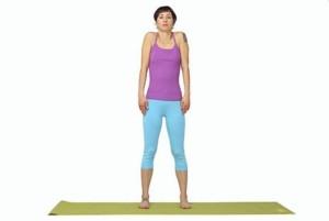 Упражнения для выпрямления спины