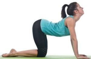 упражнения для осанки спины