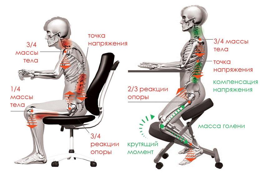 ортопедический стул картинки