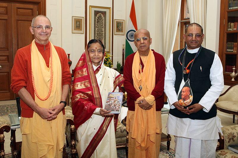 Президент Индии кришнаиты